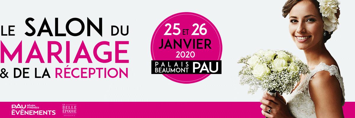 Salon du Mariage et de la Réception de Pau Logo